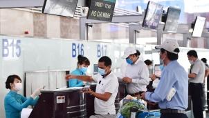 Hàng không Việt Nam từ chối phục vụ hành khách không thực hiện khai báo y tế