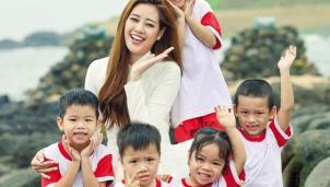 Đảo Cồn Cỏ lần đầu đón Hoa hậu Hoàn vũ Việt Nam