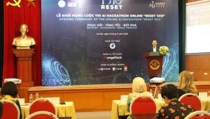 Khởi động cuộc thi 'Reset 1010' phát triển ứng dụng công nghệ cho doanh nghiệp