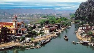 Khu du lịch Kênh Gà - Vân Trình tại Ninh Bình đã được phê duyệt quy hoạch