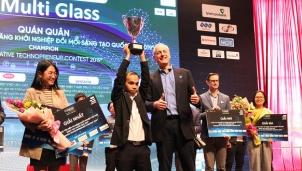 Nhà sáng lập của MultiGlass nhận nhiều giải thưởng danh giá