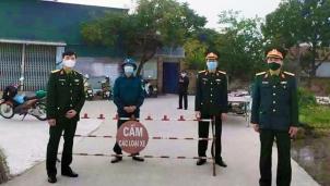 Huyện Bình Giang (Hải Dương) phong tỏa khu dân cư với 80 hộ dân