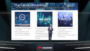 Huawei: Dữ liệu 5G sẽ giải phóng sức mạnh của tài chính thông minh