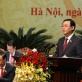 Chân dung tân Bí thư Thành ủy Hà Nội khóa XVII Vương Đình Huệ vừa mới được bầu
