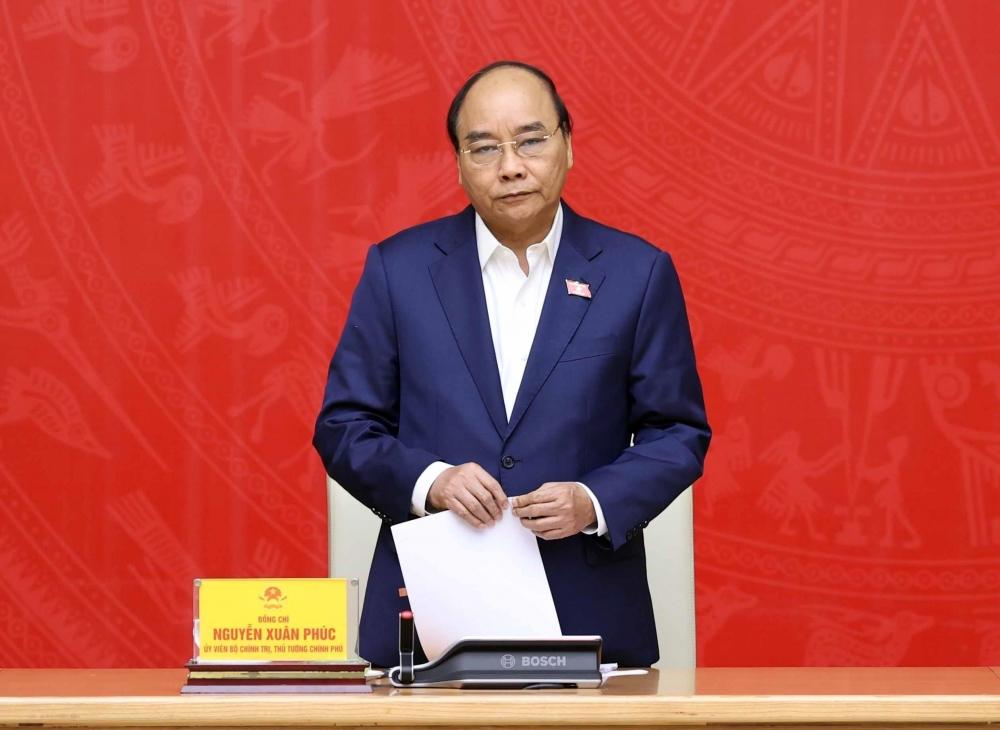 Thủ tướng Chính phủ Nguyễn Xuân Phúc phát biểu giao nhiệm vụ